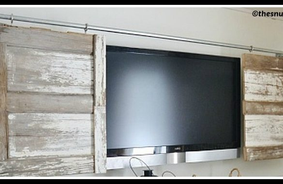 DIY Barn Door Cover Tutorial