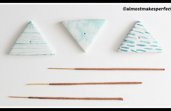 DIY Incense Holders Tutorial