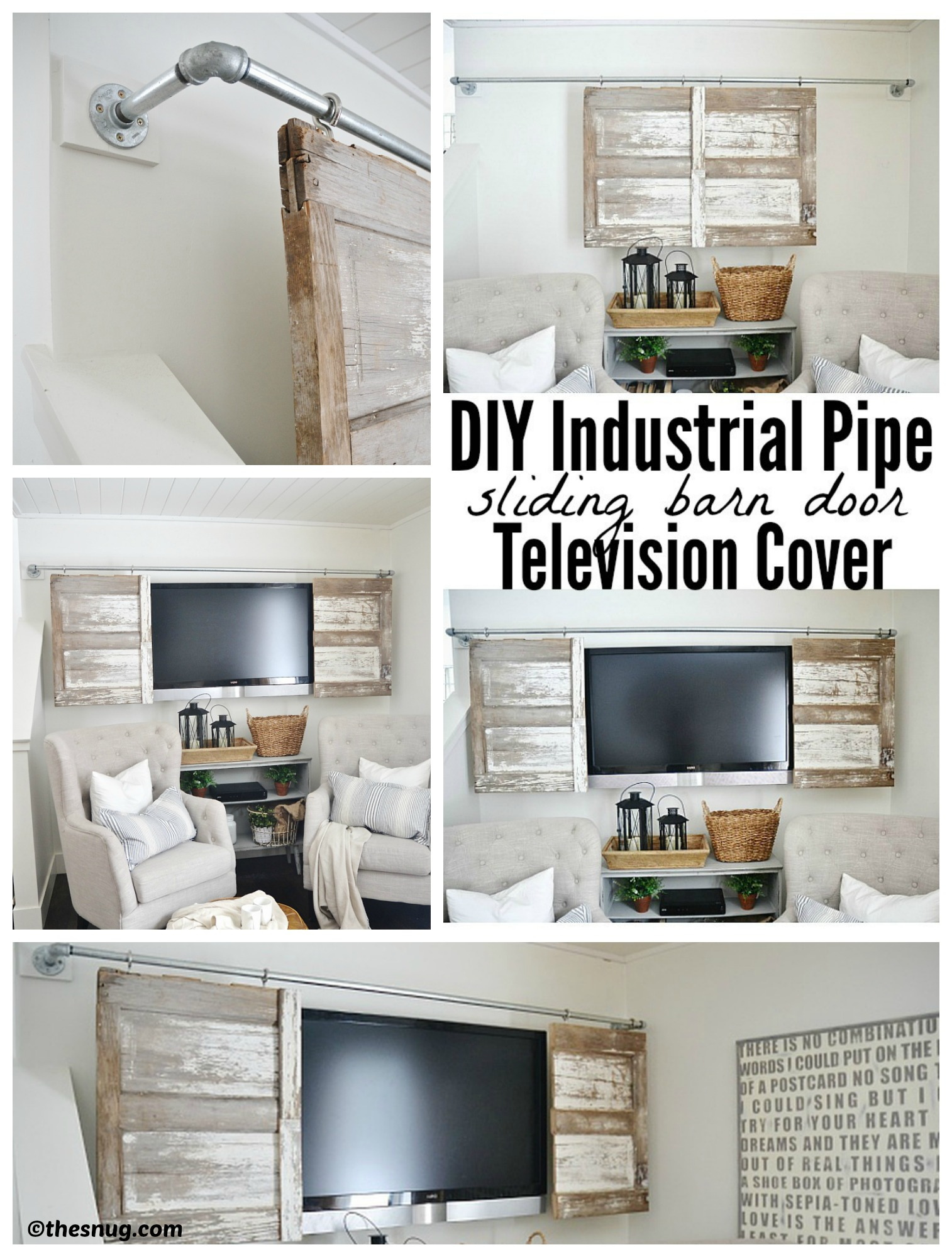 How to make a Barn Door Cover