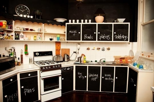 Label Kitchen Cupboards