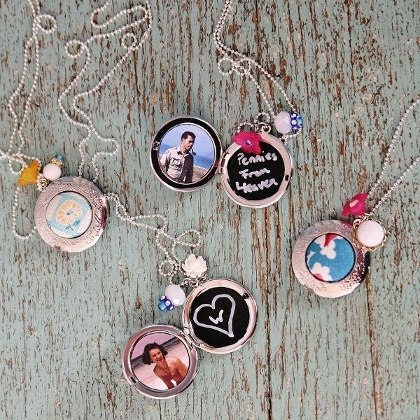 Make a locket interchangeable