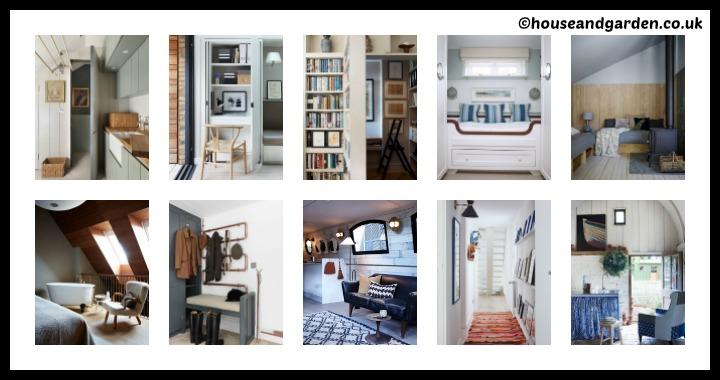 10 DIY Small Spaces Ideas Tutorial