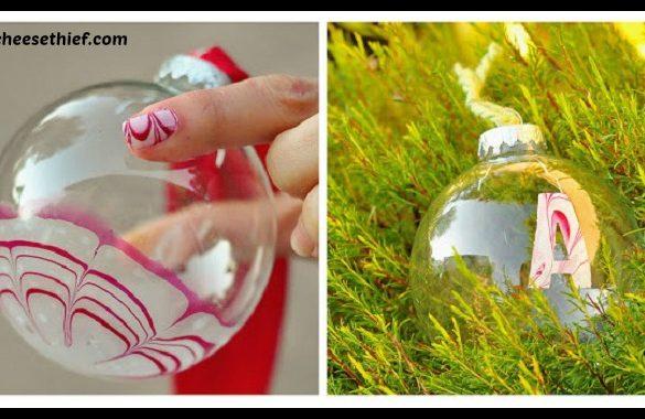 DIY Candy Cane Ornaments Tutorial