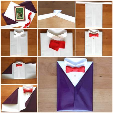 Gift Wrapping Suit Tie