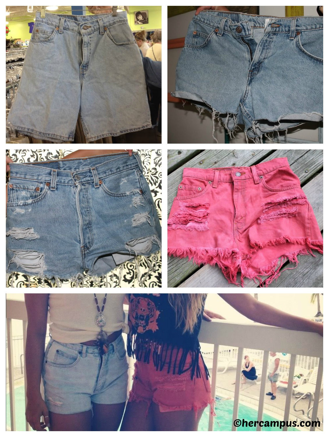 How to make High-Waisted Shorts