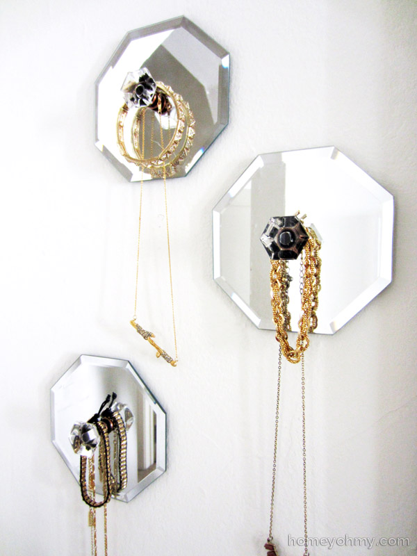 Mirror Jewelry Wall Hangers