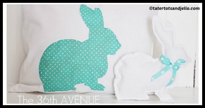 DIY Bunny Pillow Tutorial