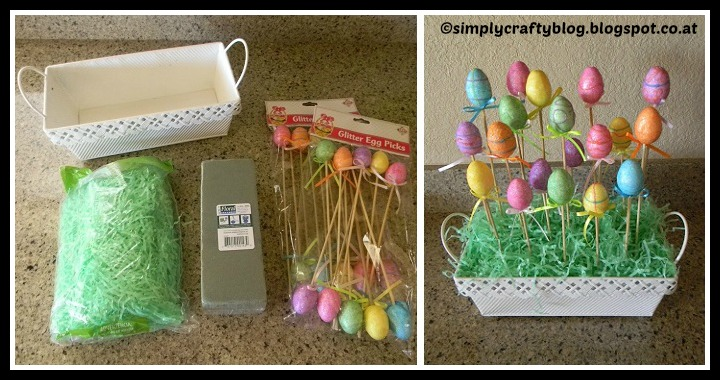 DIY Easter Eggs Centerpiece Tutorial