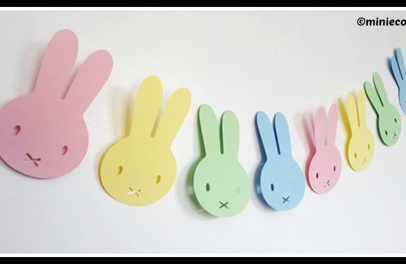 DIY Easter Garland Tutorial