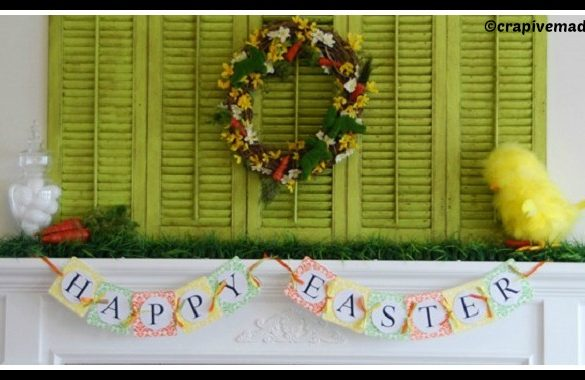 DIY Easter Mantel Epic Letterpress Tutorial