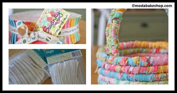 DIY Fabric Easter Basket Tutorial