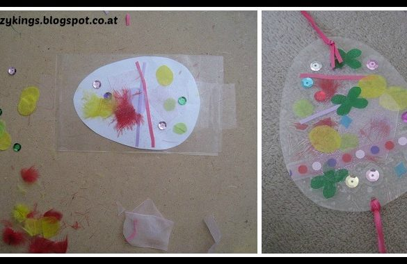 DIY Transparent Eggs Tutorial