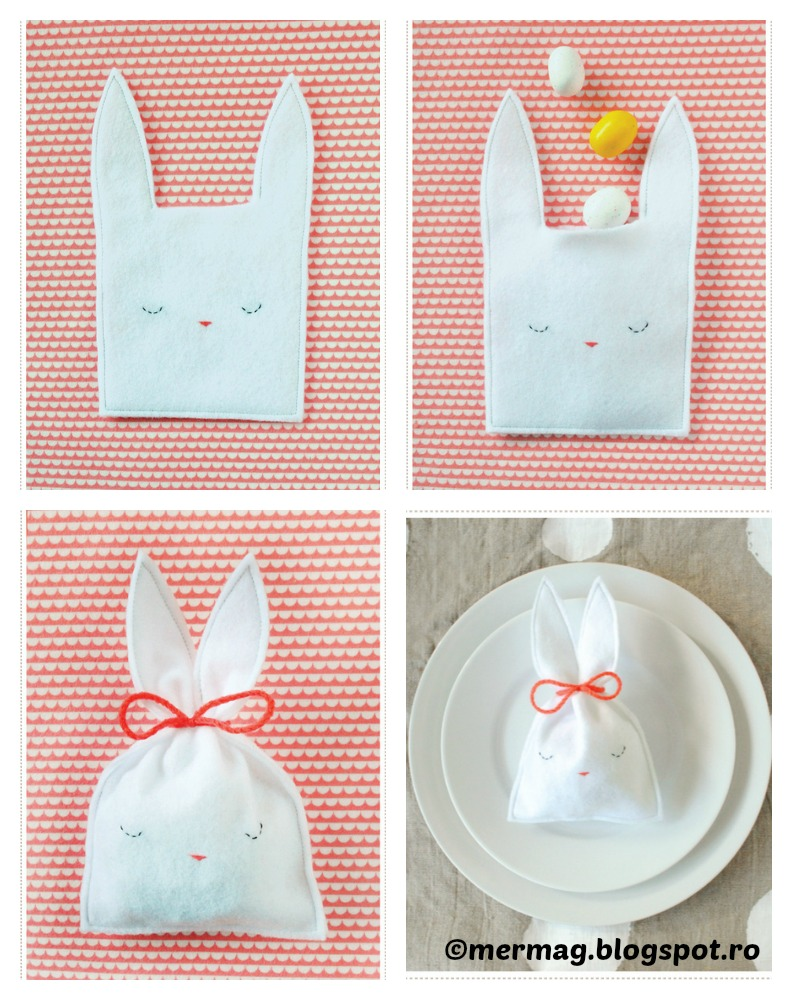 How to make a Bunny Candy Pouch