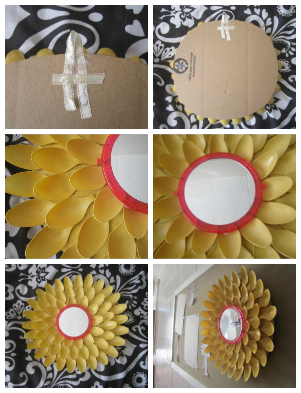 How to make a Flower Mirror