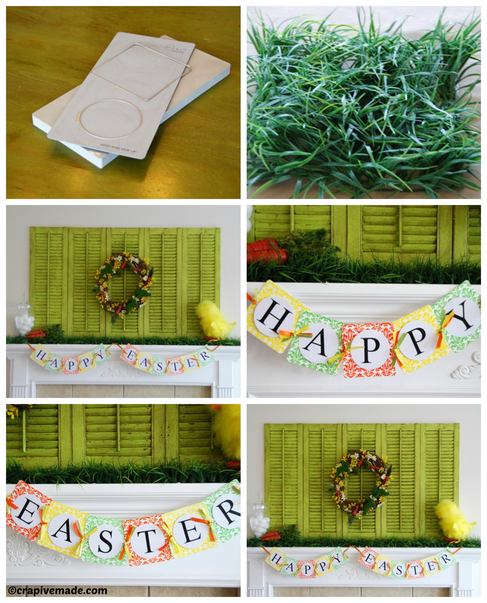 How to make an Easter Mantel Epic Letterpress