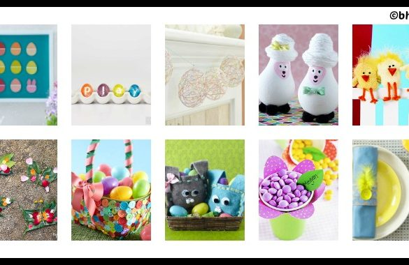 10 DIY Easter Crafts for Children