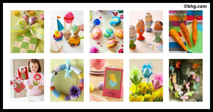 10 DIY Easter Crafts for Kids part 2