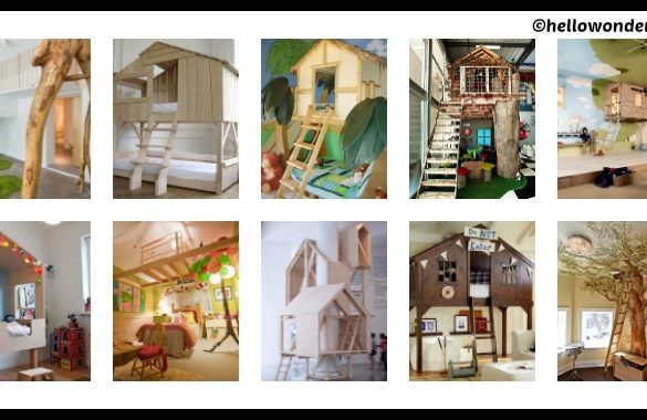 10 DIY Indoor Tree Houses