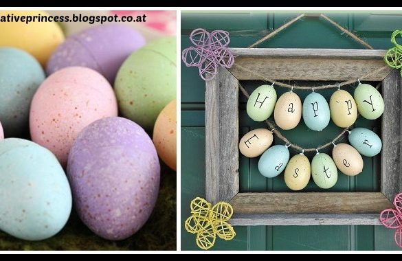 DIY Easter Picture Frame Wreath Tutorial