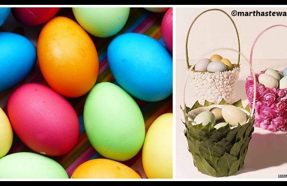 DIY Flowered Easter Basket Tutorial