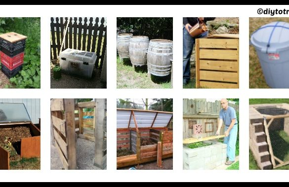 10 DIY Compost Bins Ideas