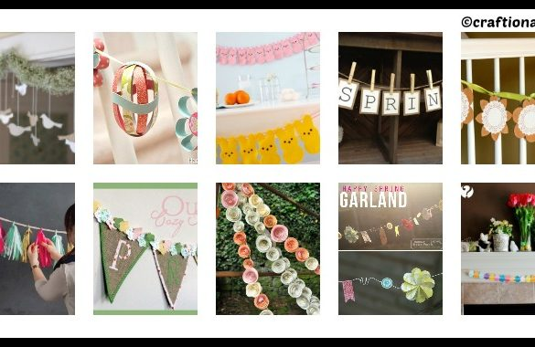 10 DIY Garlands for Easter