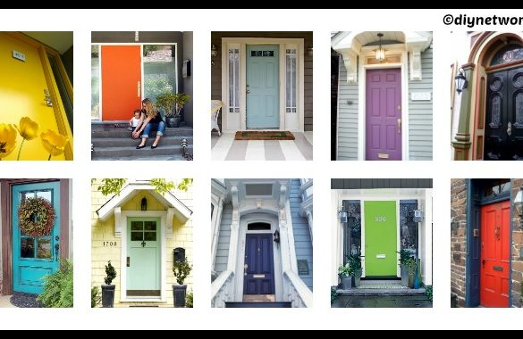10 Ideas to Paint Your Front Door