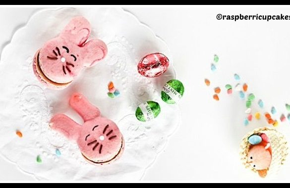 DIY Easter Bunny Macarons Tutorial