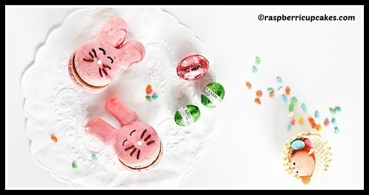 DIY Easter Bunny Macarons Tutorial