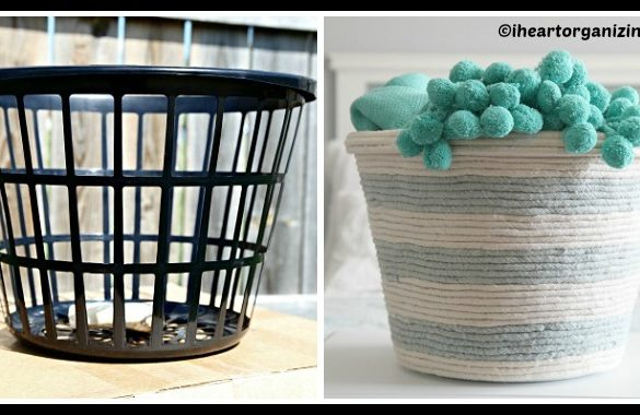 DIY Easter Rope Basket Tutorial