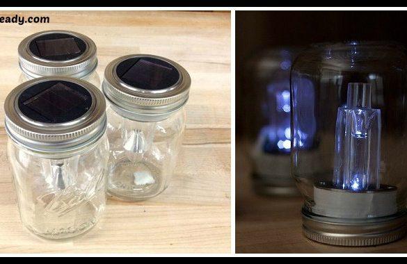 DIY Mason Jar Solar Lights Tutorial