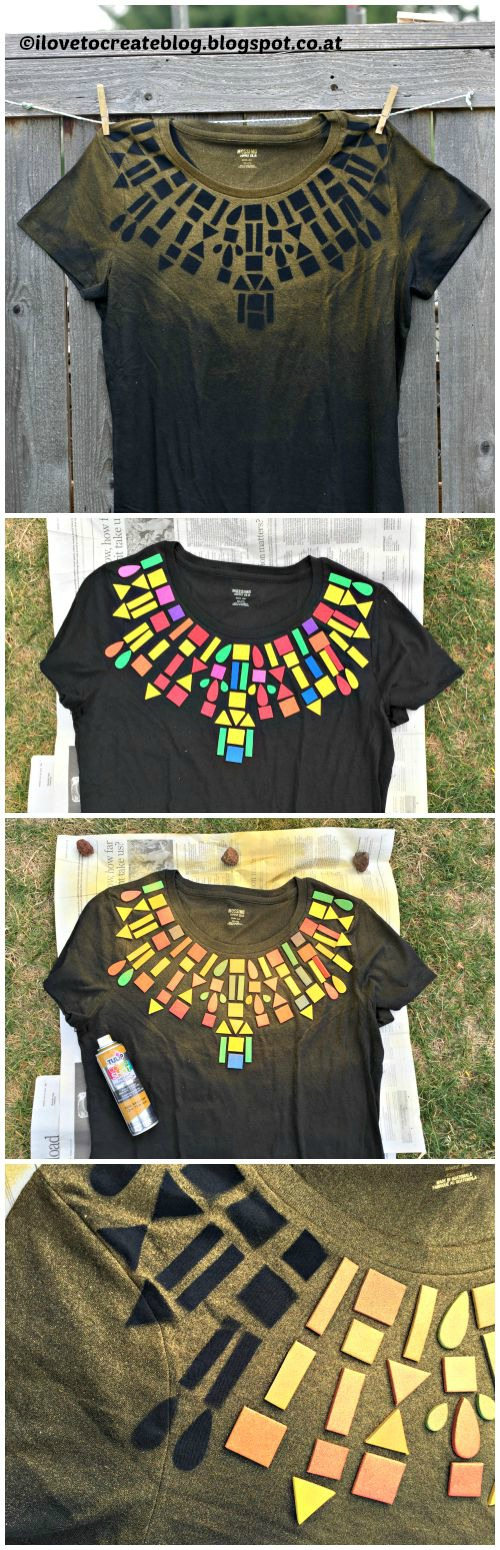 How to make a Geometric T-Shirt
