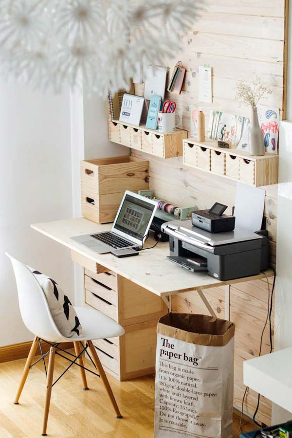 Clever office organisation 7