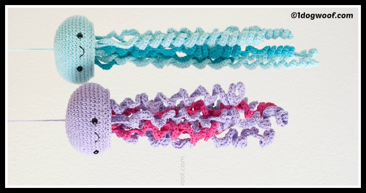 DIY Crochet Jellyfish Hangers Tutorial