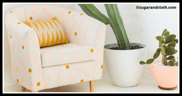 DIY Painted Chair Makeover Tutorial