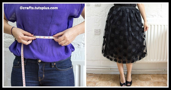 DIY Tulle Party Skirt Tutorial