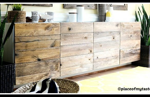 DIY Reclaimed Wood Buffet Tutorial