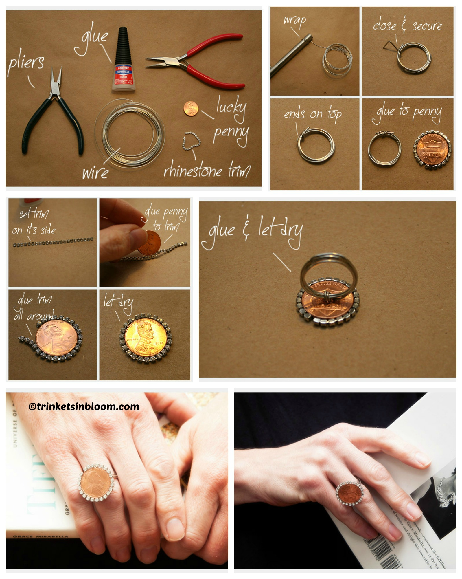 How to make a Penny Ring