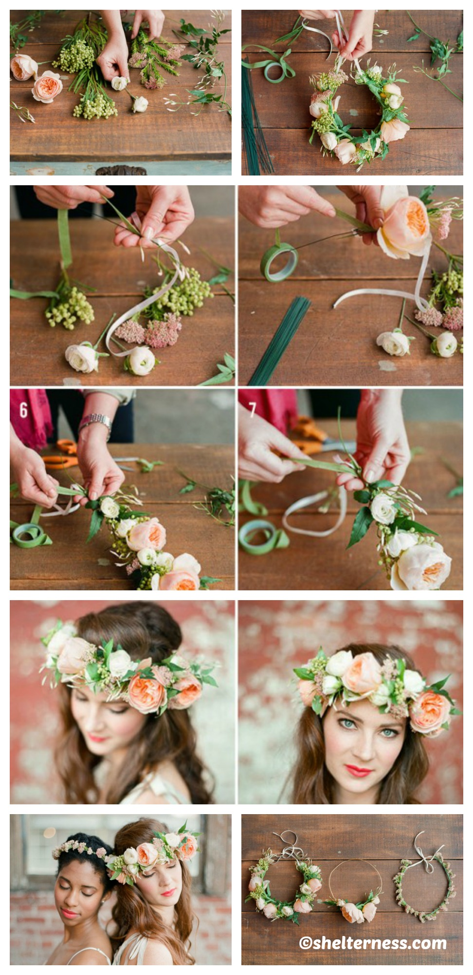How to make a Summer Flowers Crown