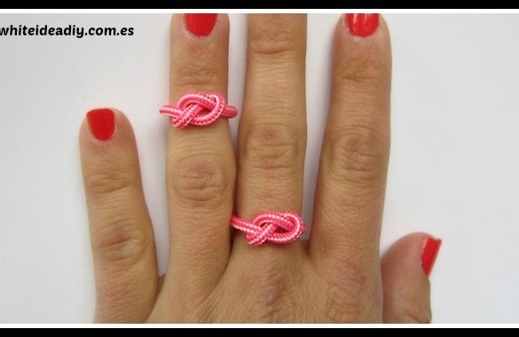 DIY Infinite Rope Ring Tutorial
