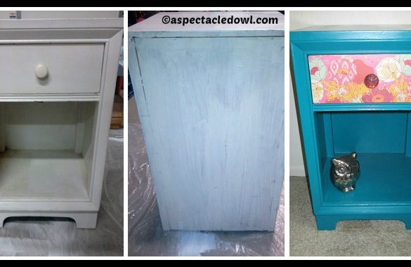 DIY Refurbished Nightstand Tutorial