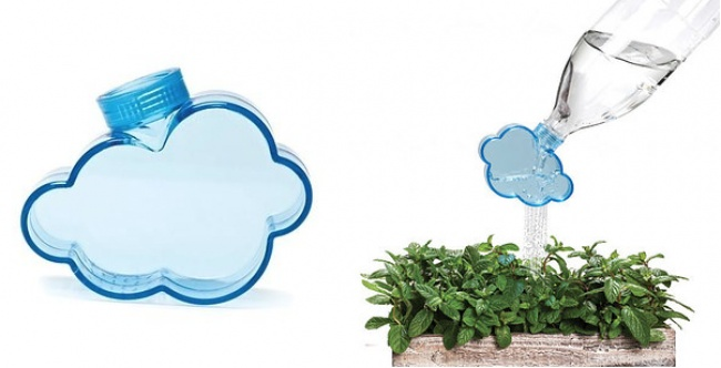 A cloud for watering your plants