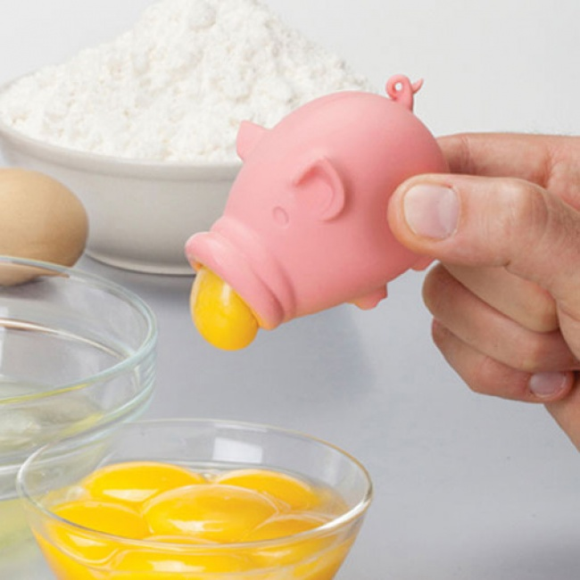 The 'Yolkpig' egg separator