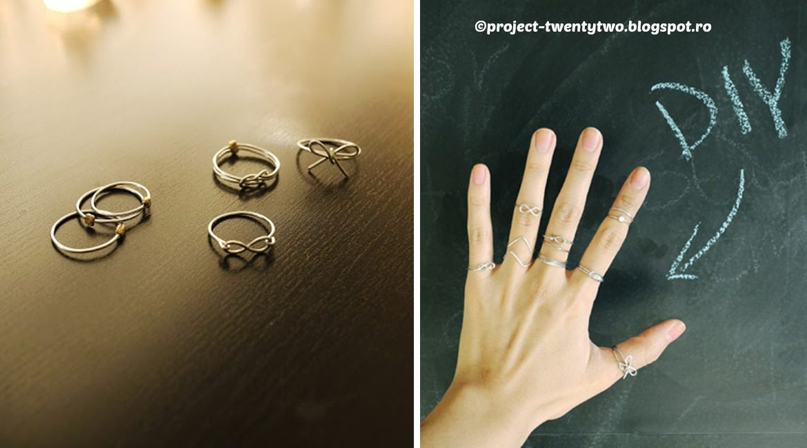 DIY Stackable Rings Tutorial