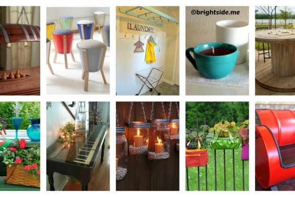 10 ways to give life to old things