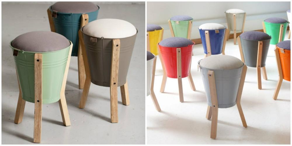 Bucket stools