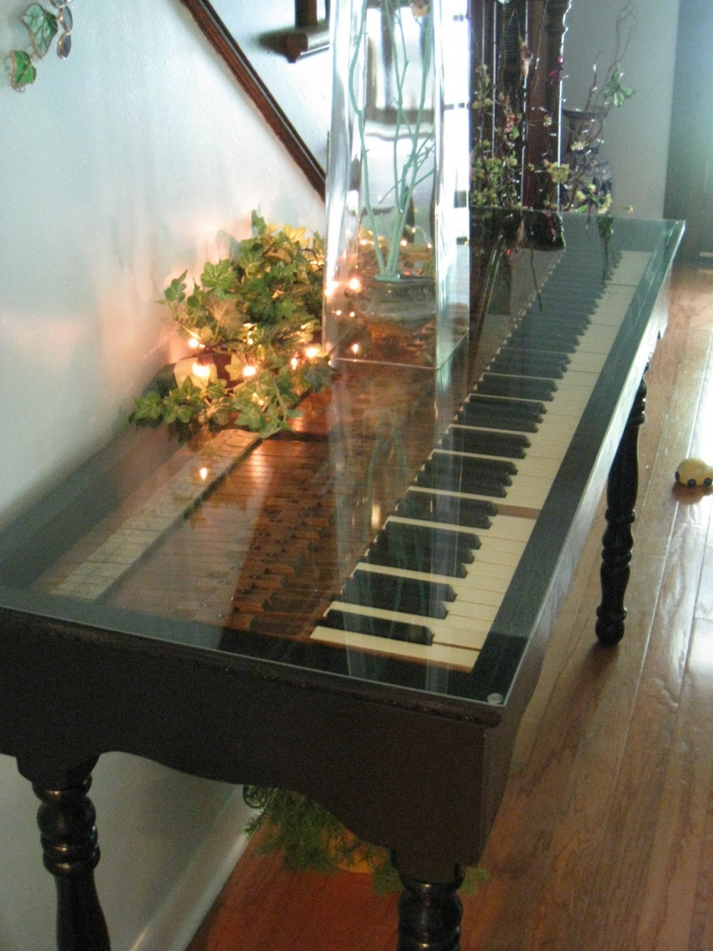 Old piano brought to life again