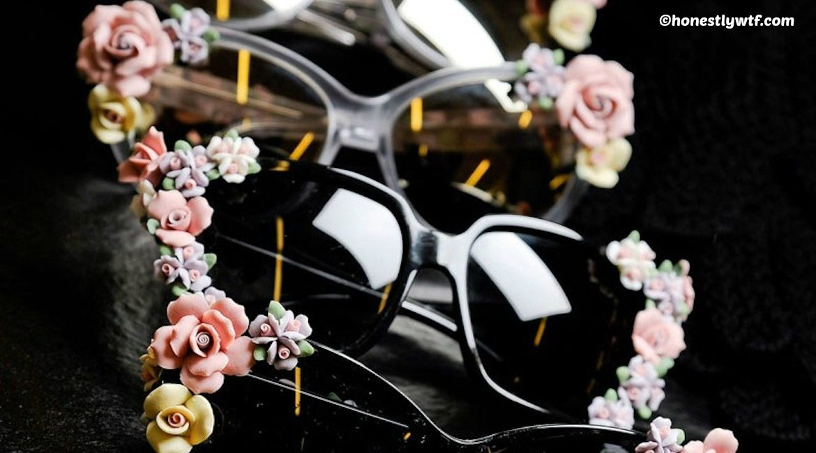 diy floral sunglasses tutorial