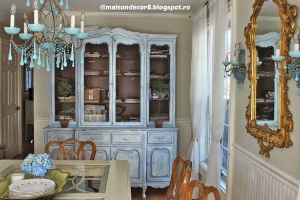 DIY French Library Cabinet Tutorial