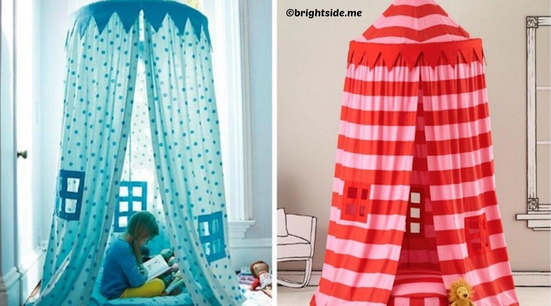 diy indoor tent for kids tutorial